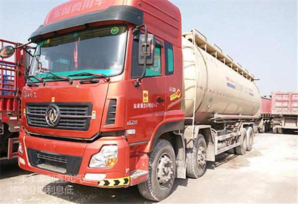 东风天龙-350 容积40个方 罐装车
